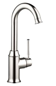 Hansgrohe Talis® 1-Hole Bar Kitchen Faucet with Single Lever Handle H04217
