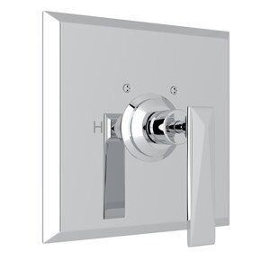 Rohl Vincent Pressure Balancing Valve Trim with Single Lever Handle (Less Diverter) RA1000LV