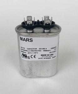 Motors & Armatures Mars 10 mfd 370V Oval Run Capacitor MAR14008