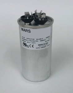 Motors & Armatures 30/7.5 mfd 440/370V Round Run Capacitor MAR14282