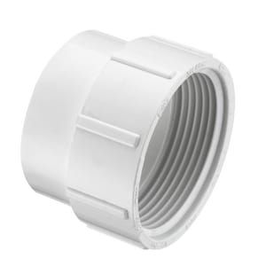 Spears P105 Series Spigot x FPT Clean-Out, DWV and Straight Schedule 40 PVC Adapter SP105