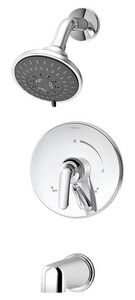 Symmons Industries Elm® Tub and Shower System with Double Lever Handle and Diverter SYMS5502TRM