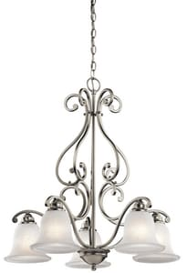 Kichler Lighting Camerena™ 29 in. 100W 5-Light Medium Incandescent Chandelier KK43225