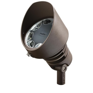 Kichler Lighting 19.5W 8-Light LED Flood Light in Textured Architectural Bronze KK16203AZT30