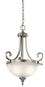 Kichler Lighting Monroe™ 100W 2-Light Medium Base Incandescent Pendant KK43163