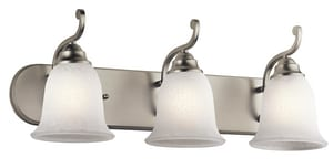 Kichler Lighting Camerena™ 100W 3-Light Bath Vanity Fixture KK45423