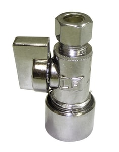 PROFLO® 5/8 in. OD Push x 3/8 in. OD Quarter Turn Strainer Stop PFXQSQ32