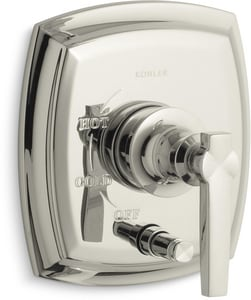Kohler Margaux™ Thermostatic Valve Trim with Push Button Diverter and Single Lever Handle (Less Valve) KT98759-4