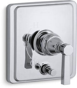Kohler Pinstripe® Pressure Balancing Valve Trim with Diverter and Single Lever Handle KT98757-4A