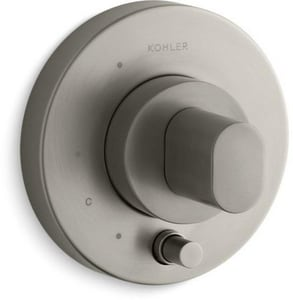 Kohler Oblo® Pressure Balancing Valve Trim (Less Valve) with Diverter and Single Oval Handle KT98761-9