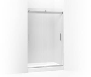 Kohler Levity® 74 x 59-5/8 in. Frameless Sliding Shower Door with Frosted Glass K706008-D3