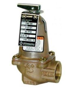 ITT-Bell & Gossett 125 psig Safety Relief Valve B110121