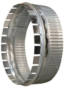 Snappy Galvanized Steel Crimp Collar SNAT25