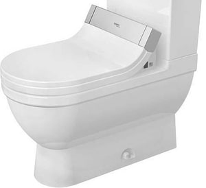 Duravit USA Starck 3 1.28 gpf Elongated Toilet Bowl (without Cistern) D2125510000