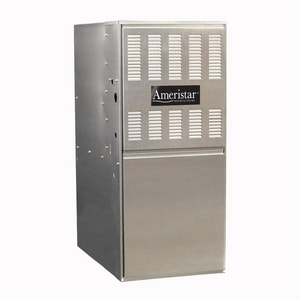 Ameristar Heating & Cooling M801P Series 17-1/2 in. 80000 BTU 80% AFUE 4 Ton Single-Stage Upflow and Horizontal 1/3 hp Natural Gas Furnace IM801P080BU48AA