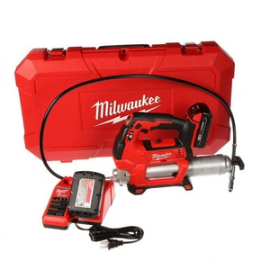 Milwaukee M18™ 18V Cordless 2-Speed Grease Gun Kit M264622CT