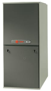 Trane XV95 Series 17-1/2 in. 80000 BTU 97% AFUE 4 Tons 2-Stage Upflow and Horizontal Left 3/4 hp Natural/LP Gas Furnace TTUH2B080A9V4VB