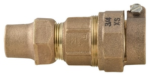 Ford Meter Box Pack Joint x Flared Copper Brass Reducing Coupling FQ2234NL