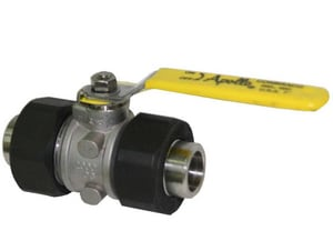Apollo Conbraco 76-400 Series 1500psig Socket Weld Stainless Steel Standard Port Ball Valve A764A0