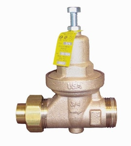 Apollo Conbraco 36LF Series 300# Double Union Solder Bronze Water Pressure Reducing Valve A36LF5001