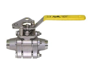 Apollo Conbraco 86A-400 Series CF8M Stainless Steel Full Port Butt Weld 1500# Ball Valve A86A400415