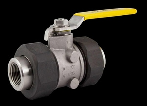 Apollo Conbraco 76-300 Series CF8M Stainless Steel Standard Port Union Threaded 2000# Ball Valve A7630A2