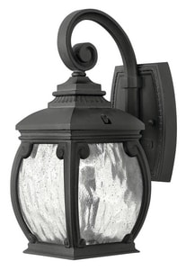 Hinkley Lighting Forum 12-4/5 in. 40W Wall Mount Medium Lantern H1946