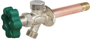 Prier Products P-164 Series 3/4 x 1/2 in. MIP x FIP Residential Quarter-Turn Anti-Siphon Wall Hydrant PP164TCC