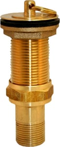 Prier Products 1 in. Solvent Weld with Tailpiece Polished Brass PC212BR