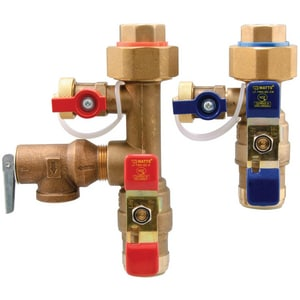 Watts Union x Female Sweat Tankless Water Heater Valve WLFTWHQCHCNRVF