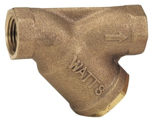 Watts 3/4 x 3/4 x 3/4 in. 400 psi Bronze Wye Strainer WLFS777SM1F
