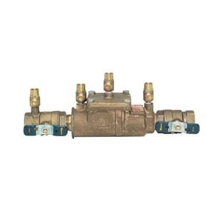 Watts Double Check Backflow Preventer Assembly WLF007M1QTCT
