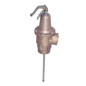 Watts 1-1/2 in. 150 psi Temperature and Pressure Relief Valve WLF340150210J