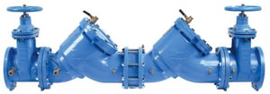 Watts Series LF909 Epoxy Coated Cast Copper Silicon Alloy MNPT 175 psi Backflow Preventer WLF909M1NRS