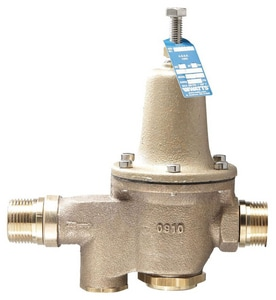 Watts 300 psi Bronze Water Pressure Reducing Valve and Strainer WLF5M3Z6