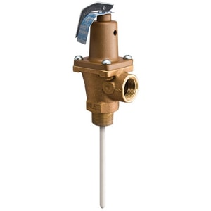 Watts 1 in. Auto Temperature Pressure Relief Valve WLF40XL7G50210G