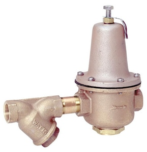 Watts Regulator 300 psi Female Threaded Copper Alloy Water High Pressure Regulator Valve WLF223SG