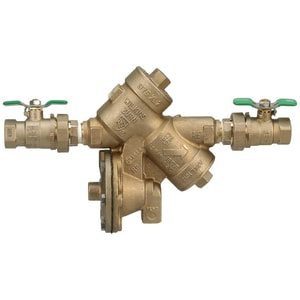 Wilkins Regulator Reduced Pressure Backflow Preventer with Union Ball Valve W975XL2U