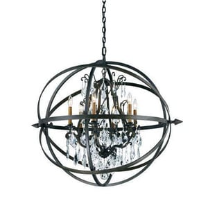 Troy-CSL Lighting Byron 60 W 120 V 6-Light Pendant TF2997