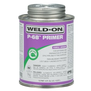Weld-On PVC Primer Cleaner in Purple I1021