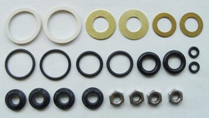 Chicago Faucet Rubber Repair Kit C1277DAB