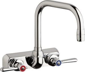 Chicago Faucet 1.5 gpm Hot and Cold Water Washboard Faucet CW4WDB6AE35369AB