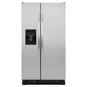 Amana 25.4 CF Side-by-Side Refrigerator With Dispenser AASD2575BR