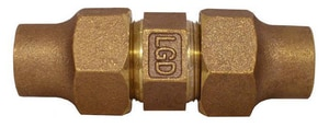 Legend Valve & Fitting Flared Bronze Union L3131NL