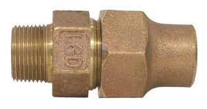 Legend Valve & Fitting Flared x MIP Bronze Coupling L31300NL
