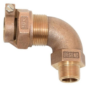 Legend Valve & Fitting PAK x MIP 90 Degree Bend Elbow L31332NL