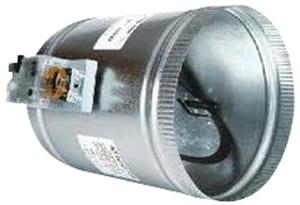 EWC Controls 12 in. Pressure Register Round Damper EPRDRD12