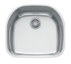 Franke Consumer Products Prestige 21 x 19 in. Single Bowl Undercounter Kitchen Sink FPRX11021
