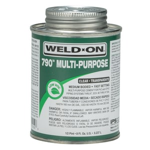 Weld-On Multi-Purpose Medium Body Cement in Clear I1025