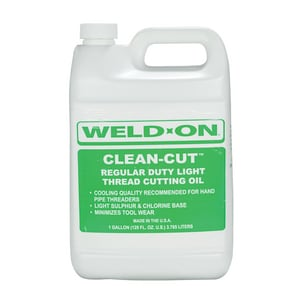 Weld-On 45 lbs. Light Cutting Oil I80425